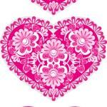 Valentine's lace — Stock Vector #8416635