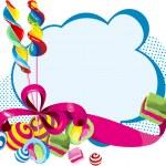 Постер, плакат: Sweets card