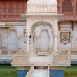 Stock Photo: Pavilion in Bikaner