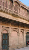 Detail of a house in Bikaner — Stock Photo