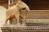 ゾウの彫刻 — ストック写真