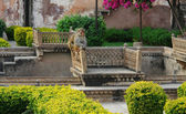 Apes at Bundi Palace — Stock Photo