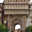 Stock Photo: city palace in karauli