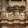 Architectural detail in India — Stock Photo