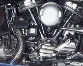 Silnik motocykla — Zdjęcie stockowe