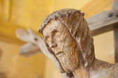 Wooden crucifix — Stock Photo