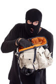 Theft and bag — Stock Photo