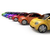 Rainbow Car — Stock Photo