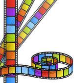Color film — Stock Vector
