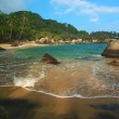 Caribbean Beach in Colombia — Stock Photo #10428079