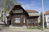 Russia. Yaroslavl. Old Wooden House — Stock Photo