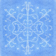 Stock Photo: Snowflake watercolor