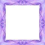 Watercolor a square pattern of dark blue color — Stock Photo
