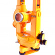 Stock Photo: Yellow theodolite