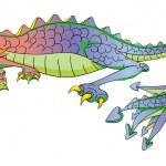 Dragon cartoon — Stock Photo #10273543