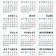 2013 calendar year of the snake — Stockfoto