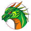 Dragon sign - Foto de Stock