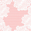 Valentine's day card pattern — Stock Photo #10274397