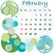February 2012 holidays — Stockfoto