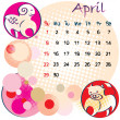 April 2012 holidays — Stockfoto