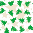 Christmas tree pattern — Stock Photo
