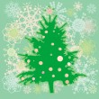 Christmas tree card — Lizenzfreies Foto