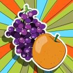 Pop art fresh fruits — Stock Photo #10275680