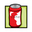 Clip art soda — Stock Photo