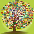 Peace tree symbol — Stockfoto #10275873