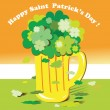 Lucky shamrock — Stock Photo