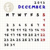 Diciembre de 2013 — Foto de Stock