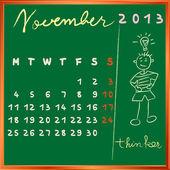 2013 november student profile — Stock Photo