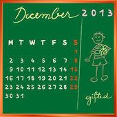 2013 december student profile — Stock Photo
