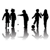School kids — Stock Photo