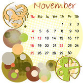 November 2012 holidays — Stock Photo