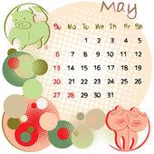 May 2012 holidays — Stock Photo