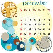 December 2012 holidays — Stock Photo