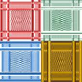 Set van arabische shemagh sjaals — Stockfoto