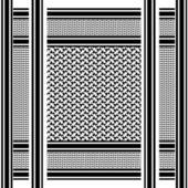 арабские shemagh шарф — Стоковое фото