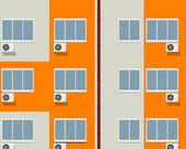 Blocco di appartamenti — Foto Stock