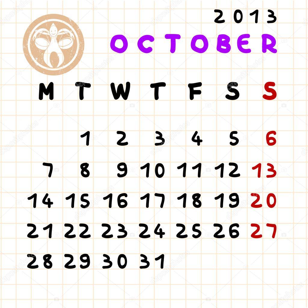 Virgo Calendar May : October sign zodiac scorpio