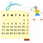 June 2013 kids — Stock Photo #10587278