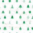 Abstract christmas tree pattern - Foto Stock