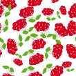 Abstract seamless pattern with berries — Stock Vector