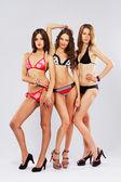 Beautiful models in bikini — Stock Photo
