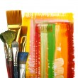 Set brushes — Stock Photo