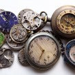 Stock Photo: Old clocks