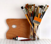 Paintbrush — Stock Photo