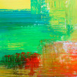 Stock Photo: Abstract background drawn by oil paints