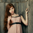 Beautiful redheaded girl - Photo